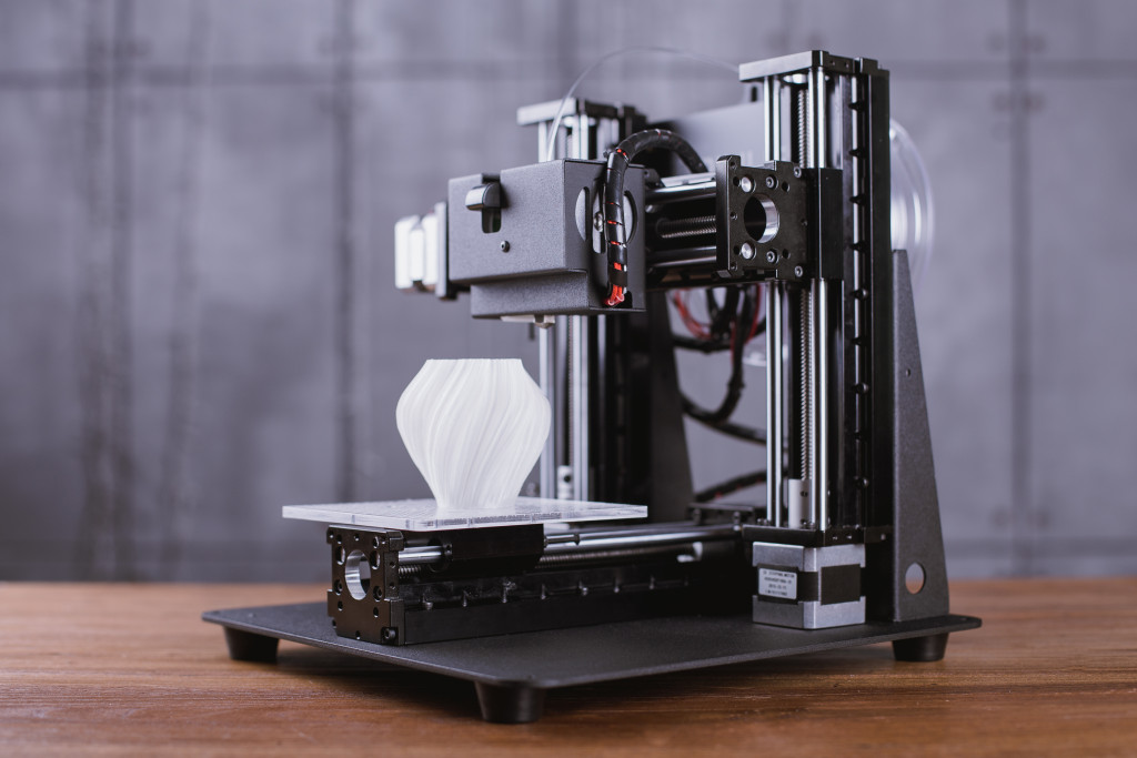 Looks nice and sturdy - the Trinus 3D printer  (image: © 2016 Kodama, Inc. )