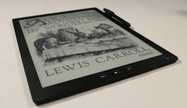 A realy big e-reader, the Good e-Reader (image: indiegogo/ © Michael Kozlowski)