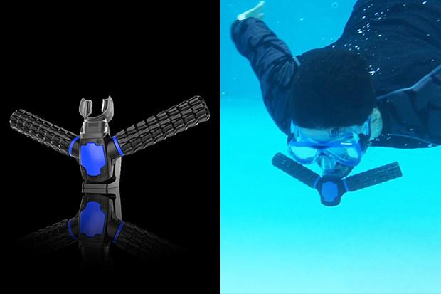 Triton artificial gills rebreather