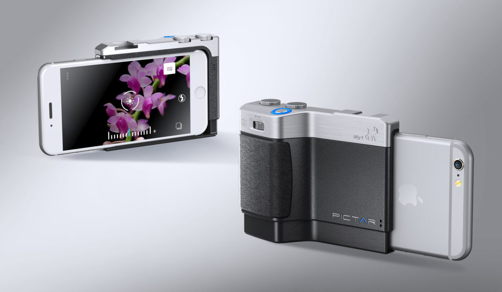 Get the grip with Pictar, the iPone camera-grip (image: © miggo)