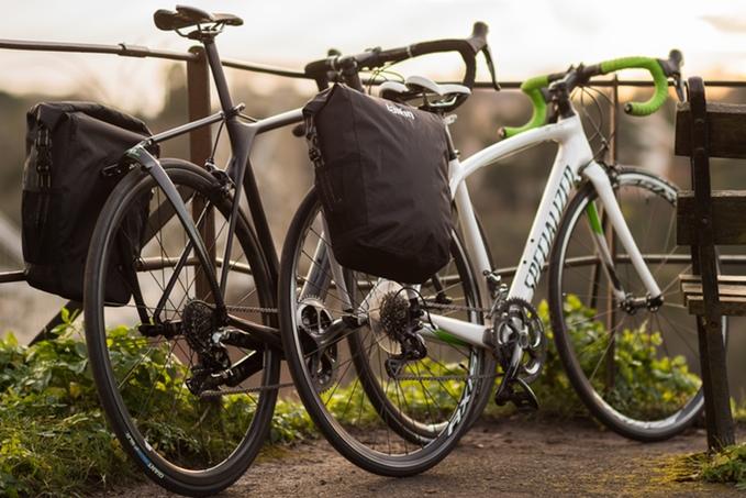 A nice looking rack for your road bike - Tailfin (image: kickstarter/ ©  Tailfin)